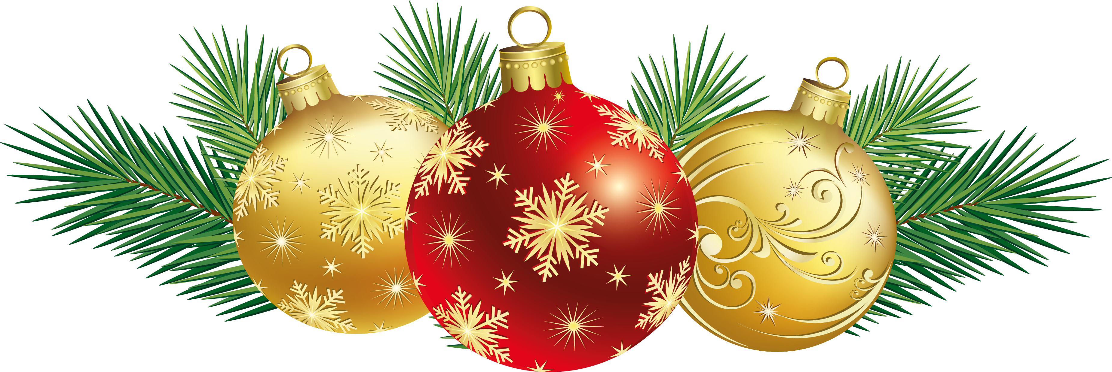 Christmas Balls Decoration PNG Clipart - Christmas Ornament PNG
