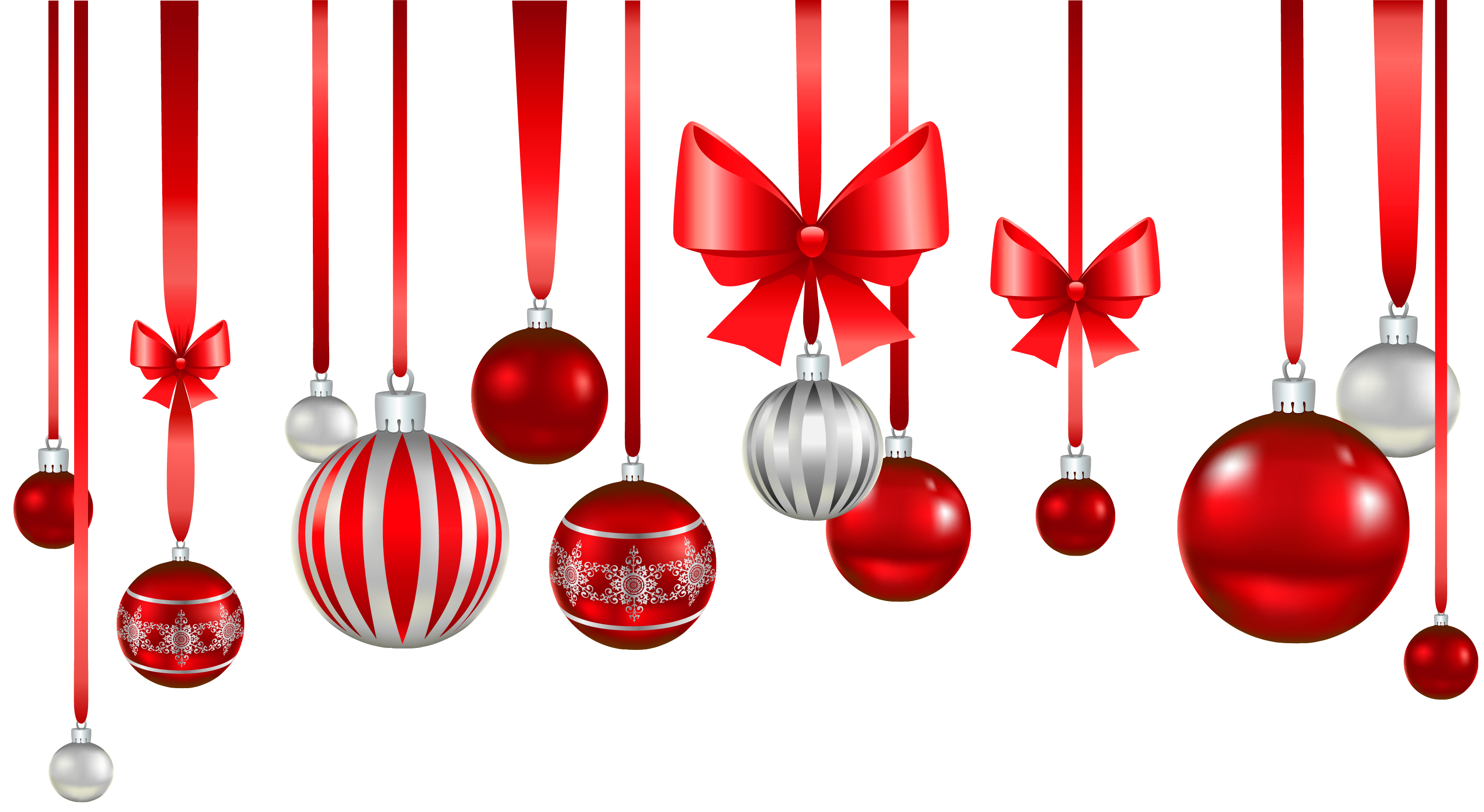 Red christmas ornament png ma