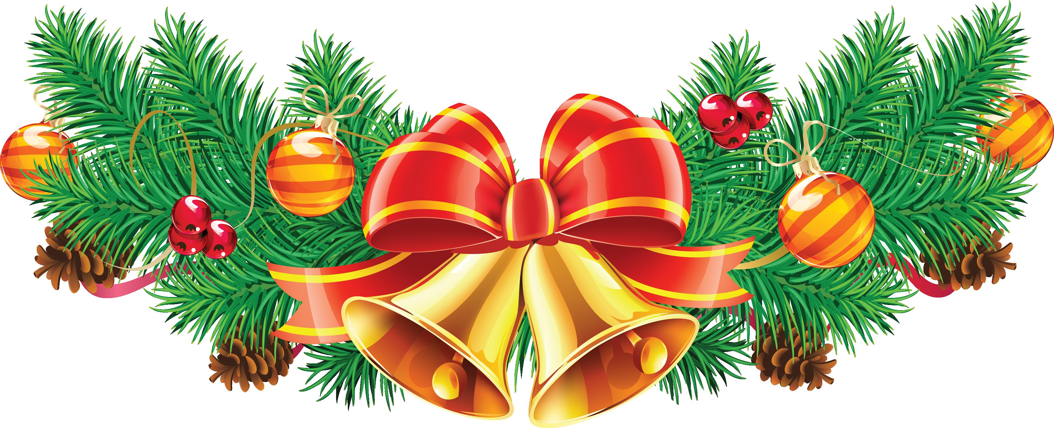 Christmas Ribbon Transparent