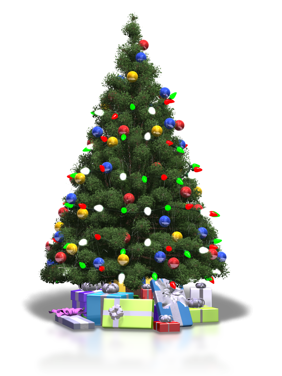 Christmas Tree Png - Christmas Tree PNG