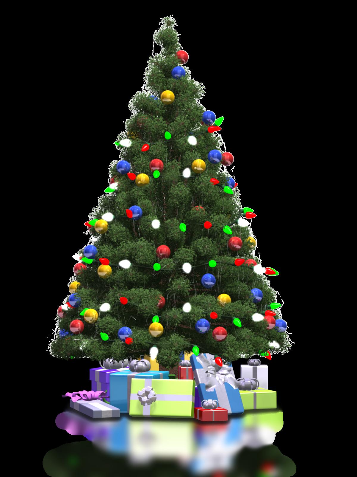 Christmas Tree PNG - 6115