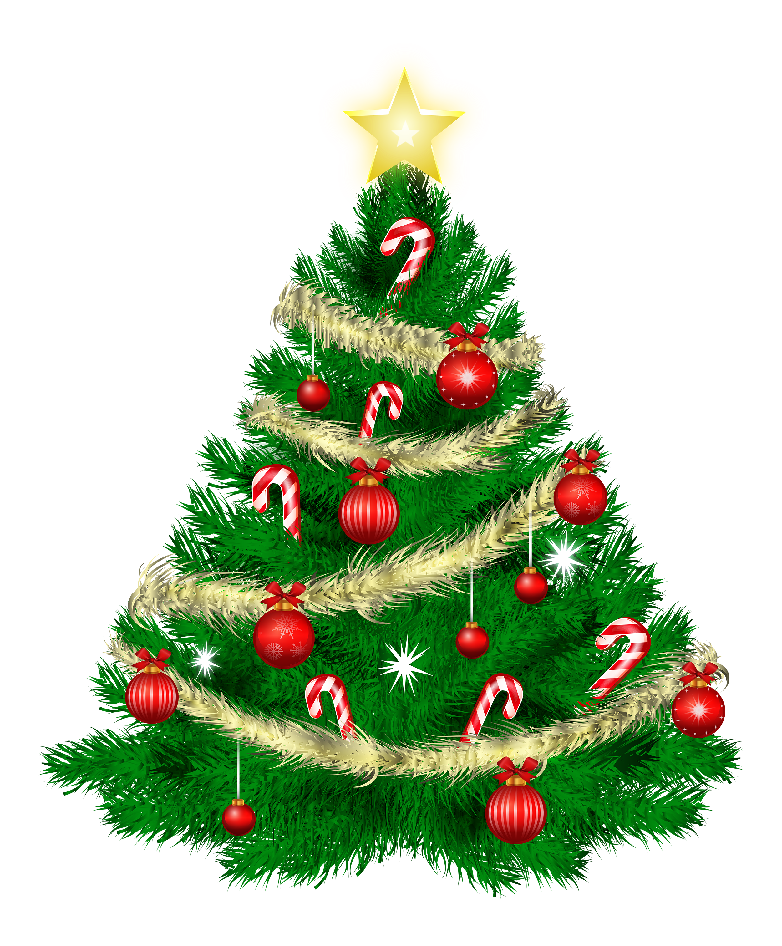 Christmas Tree PNG by dbszabo