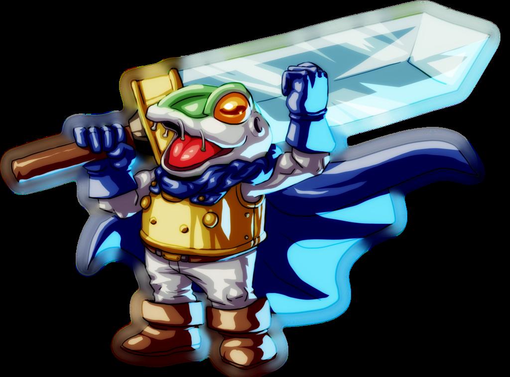 AGDQ2014 Chrono Trigger Frog By Koyote974 PlusPng.com  - Chrono Trigger PNG