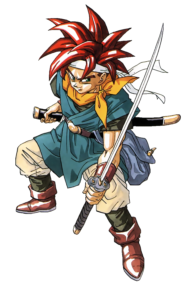 Chrono Trigger - Crono As He First Appeared For Super Nintendo.png - Chrono Trigger PNG
