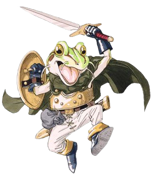 File:Chrono Trigger Frog.png - Chrono Trigger PNG