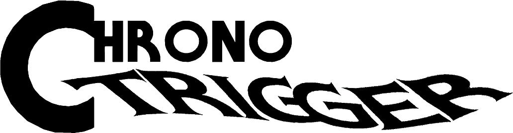 File:Chrono Trigger Logo.png - Chrono Trigger PNG