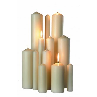 Church Altar Candles - Church Candles PNG