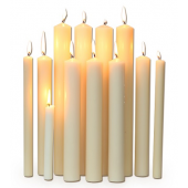 Altar Candles - Church Candles HD PNG