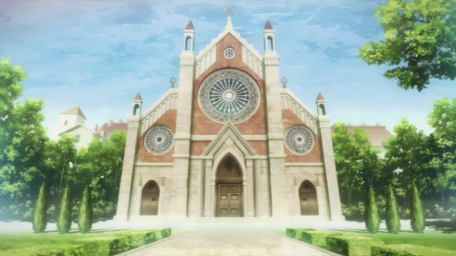 Image - Town of Beginningsu0027 church.png | Sword Art Online Wiki | FANDOM  powered by Wikia - Church HD PNG
