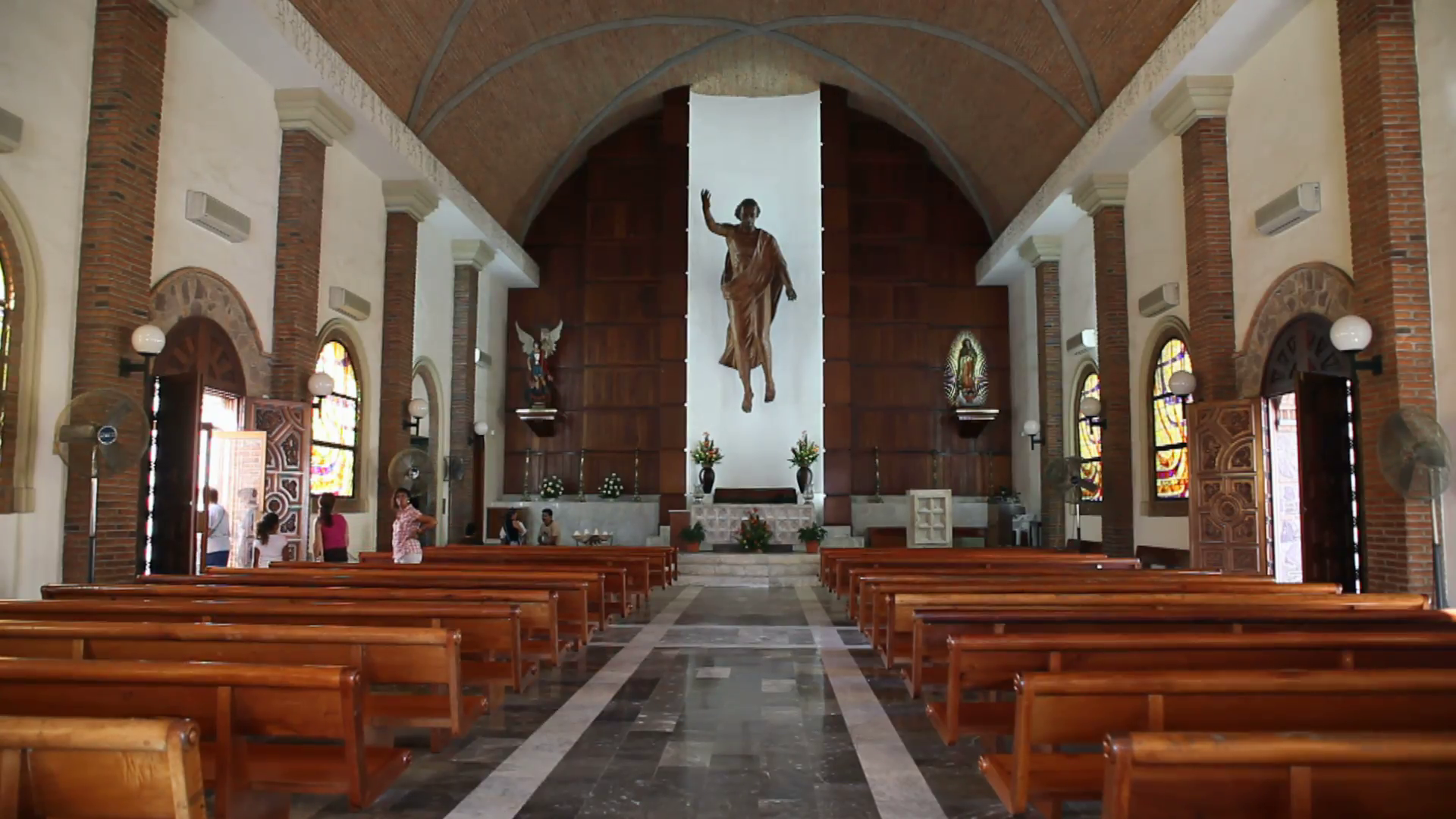 Puerto Vallarta church Jesus inside P HD 4524 Stock Video Footage -  VideoBlocks - Church HD PNG
