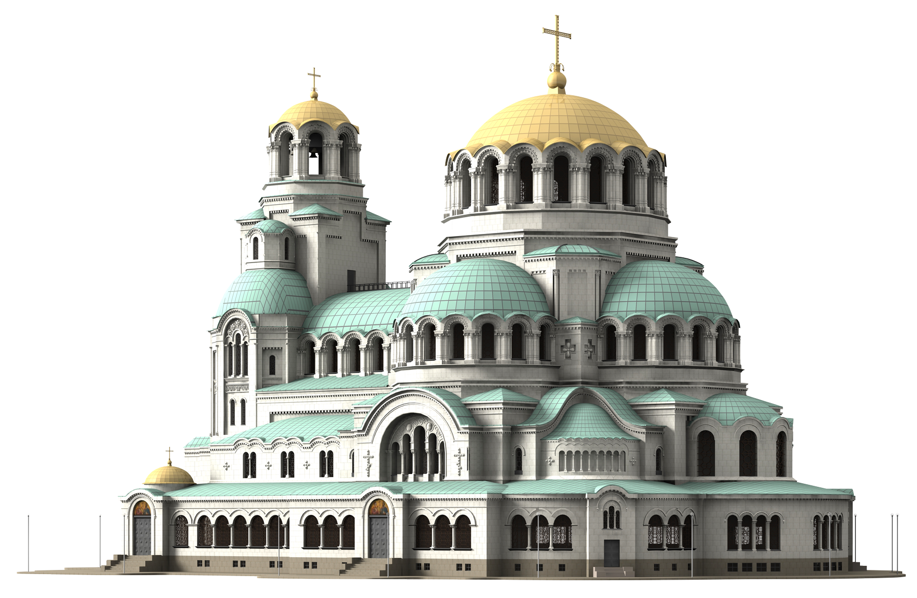 Cathedral Church PNG Transparent Image - Church PNG