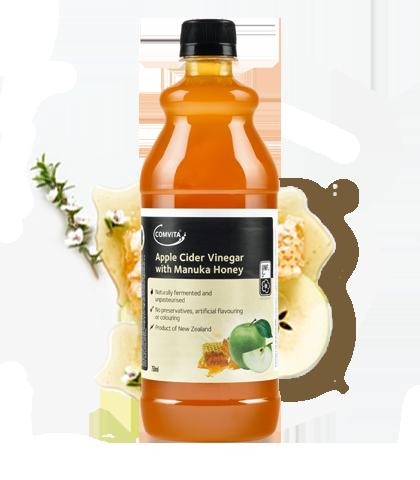 Manuka Honey and Apple Cider Vinegar - Cider PNG