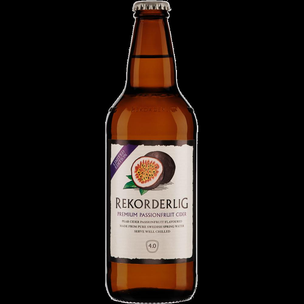 Rekorderlig Passion Fruit Cider - 15 x 500ml (Beer) PlusPng.com  - Cider PNG