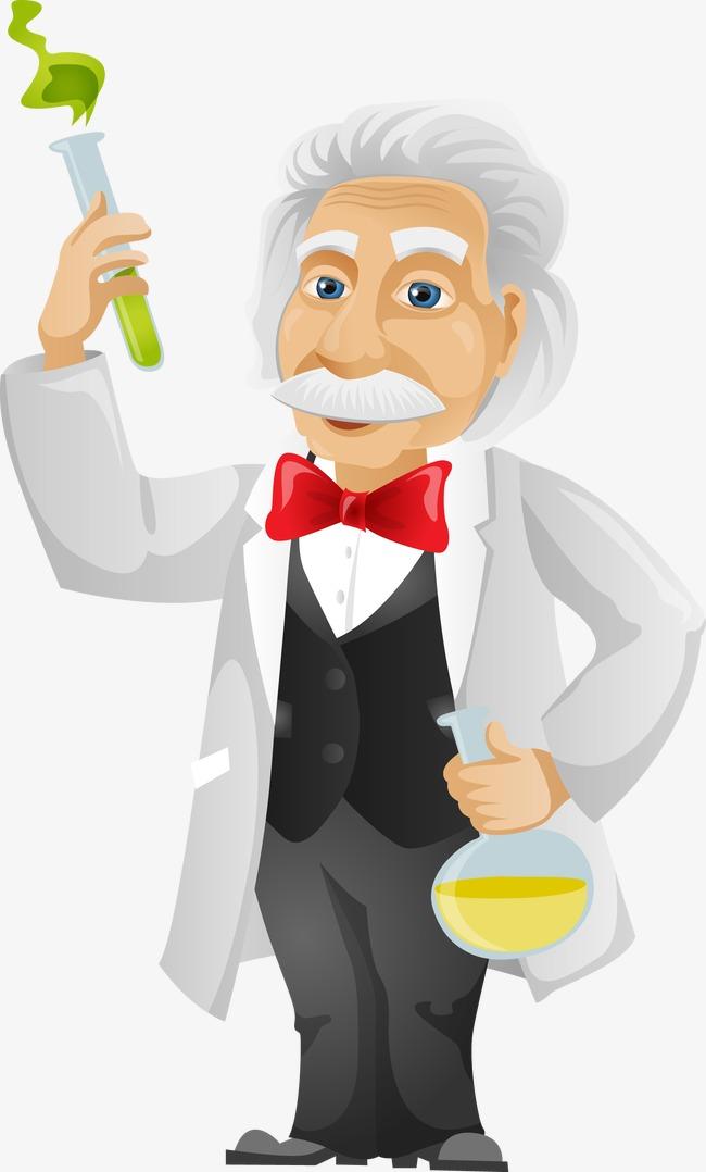 Los científicos mayores,Experimento de química,Hombre de la historieta,El  científico,Experimento de la ciencia Gratis PNG y Vector - Cientifico PNG