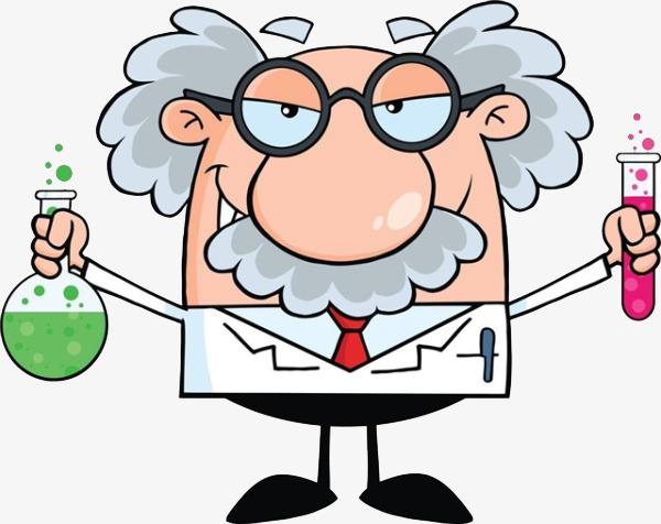 Mad Scientist, Science, The Study, Test PNG Image and Clipart - Cientifico PNG