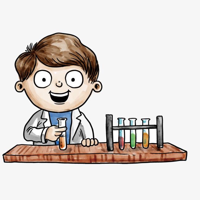 Vector experimento científico Gratis PNG y Vector - Cientifico PNG