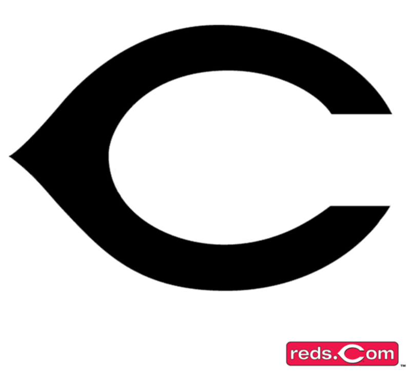 Cincinnati Reds Cap Logo Pumpkin Stencil Chris Creamers SportsLogos Clipart - Cincinnati Reds Logo Vector PNG