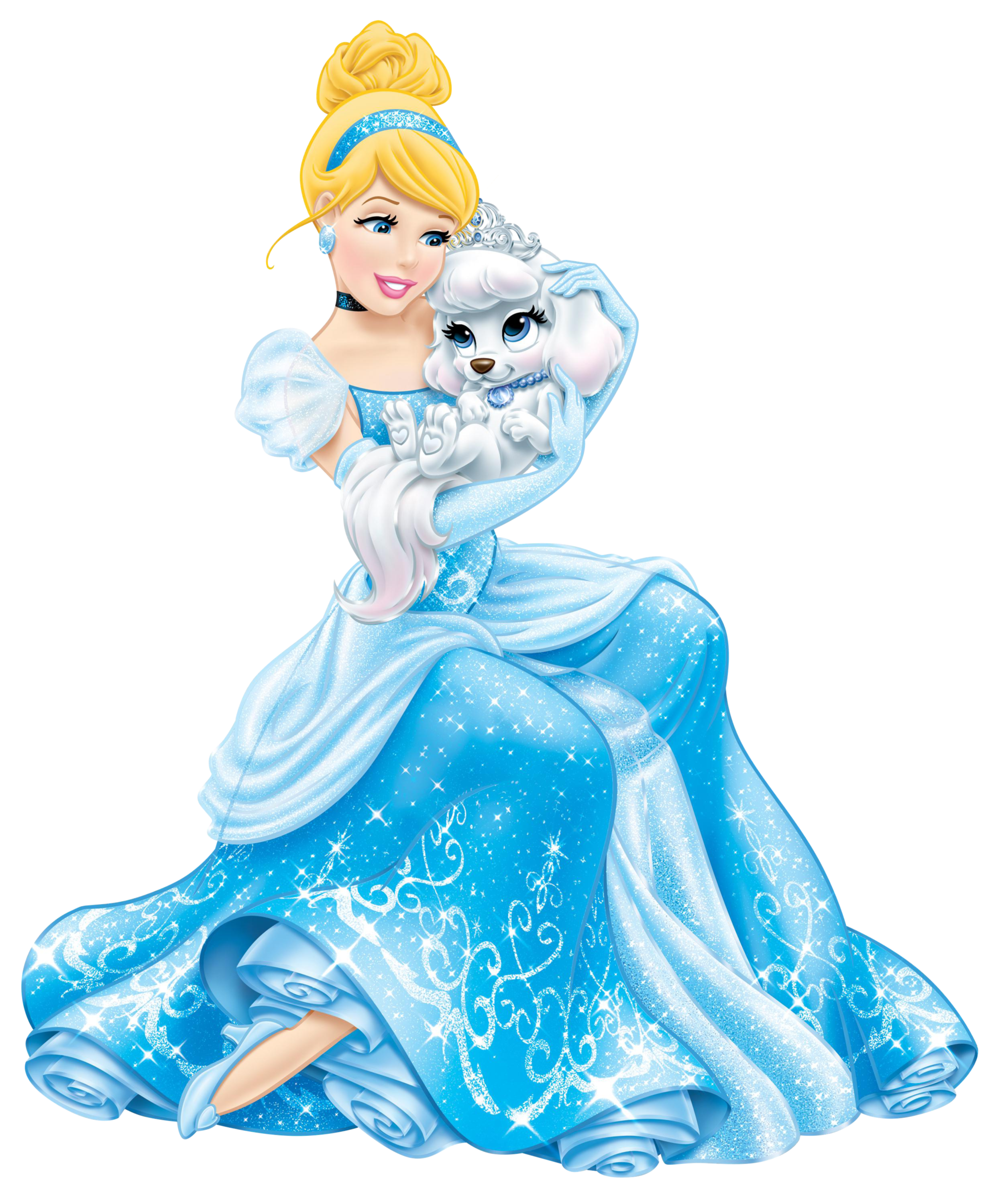 Disney Princess Cinderella with Cute - Cinderella PNG