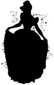 free Cinderella clip art - Cinderella Silhouette PNG HD