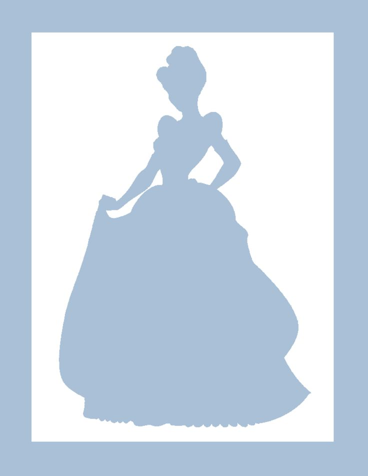 Shadows clipart cinderella #5 - Cinderella Silhouette PNG HD