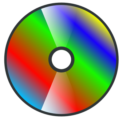Making a simple CD-Icon - Circle Objects PNG