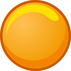 orange circle clipart - Circle Objects PNG