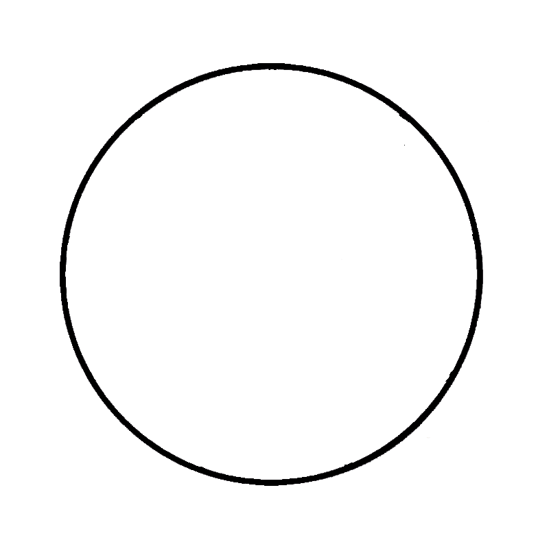 Circle,Shape Transparent PNG Sticker. Christmas PlusPng.com  - Circle Shape PNG HD