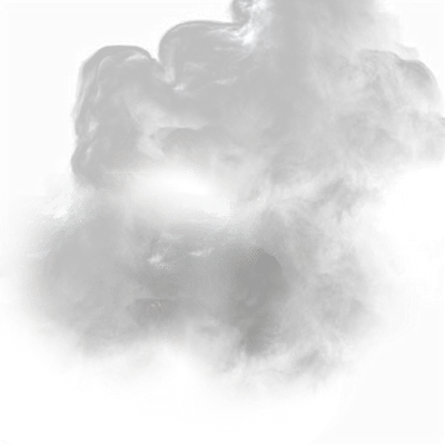Circle Smoke Cloud - Smoke Effect PNG