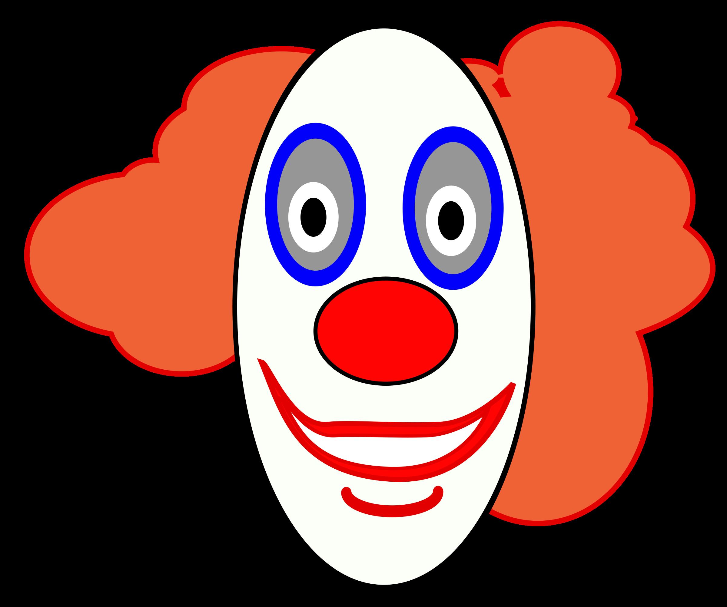 BIG IMAGE (PNG) - Circus Joker Face PNG