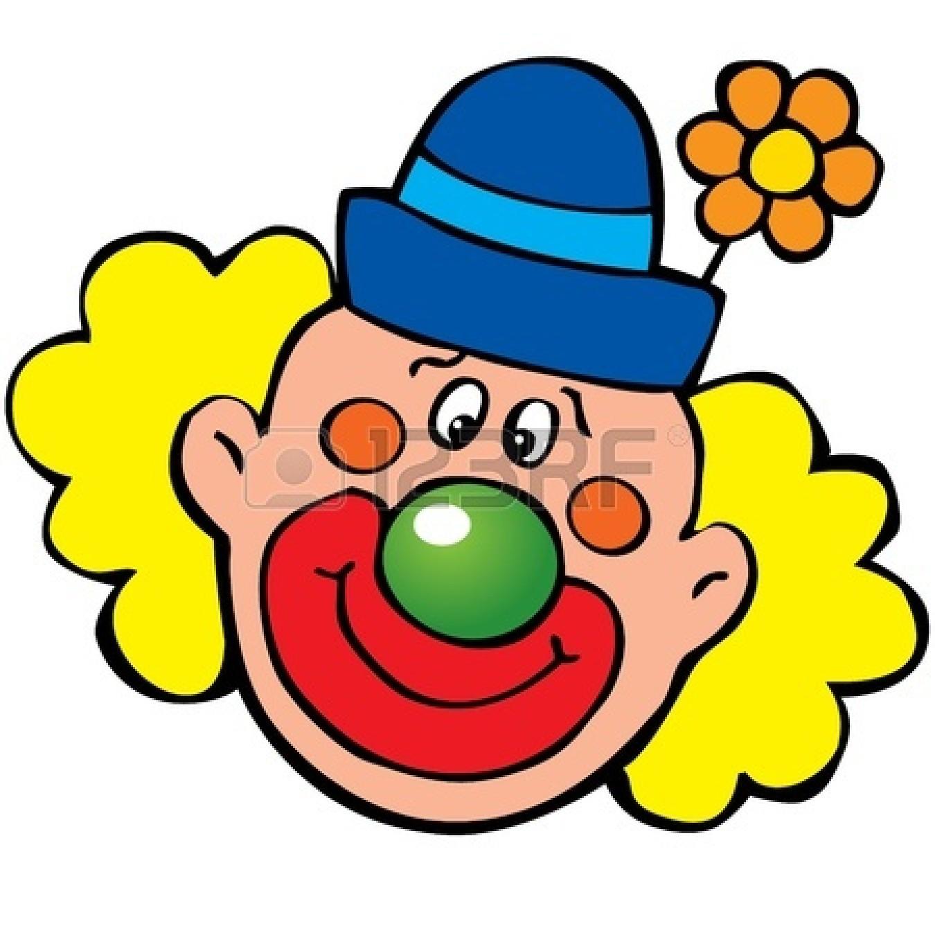 Clown Face Clip Art | clown-clip-art-15067566-happy-clown - Circus Joker Face PNG