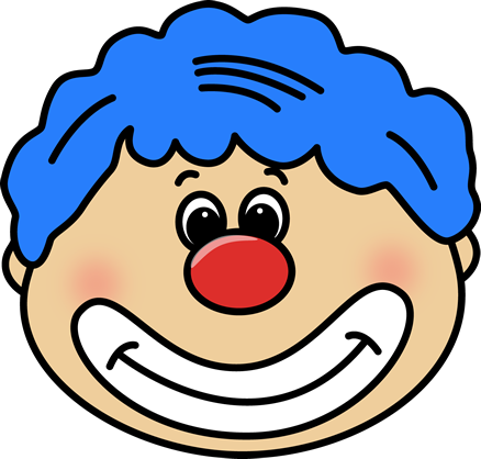 Image of clown face clipart 9 stock illustrations - Circus Joker Face PNG