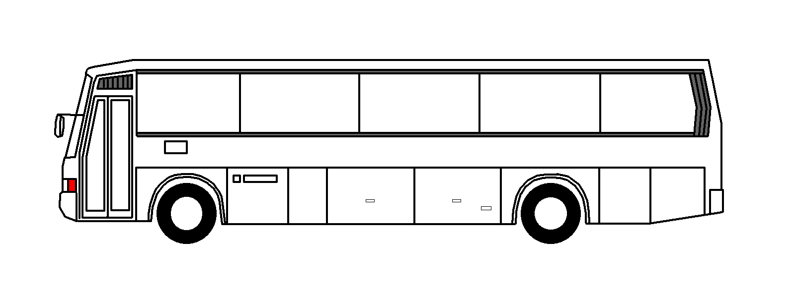 Bus black and white school bus side view clipart black and white  pluspng 2 - City Bus Side View PNG