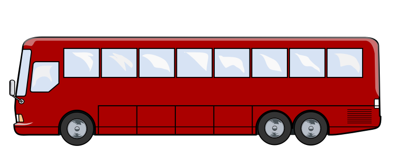 City Bus Side View PNG - 54587