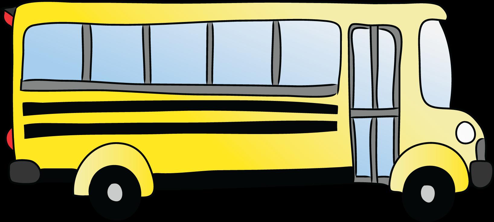 School bus clipart images 3 school bus clip art vector 4 5 2 - City Bus Side View PNG