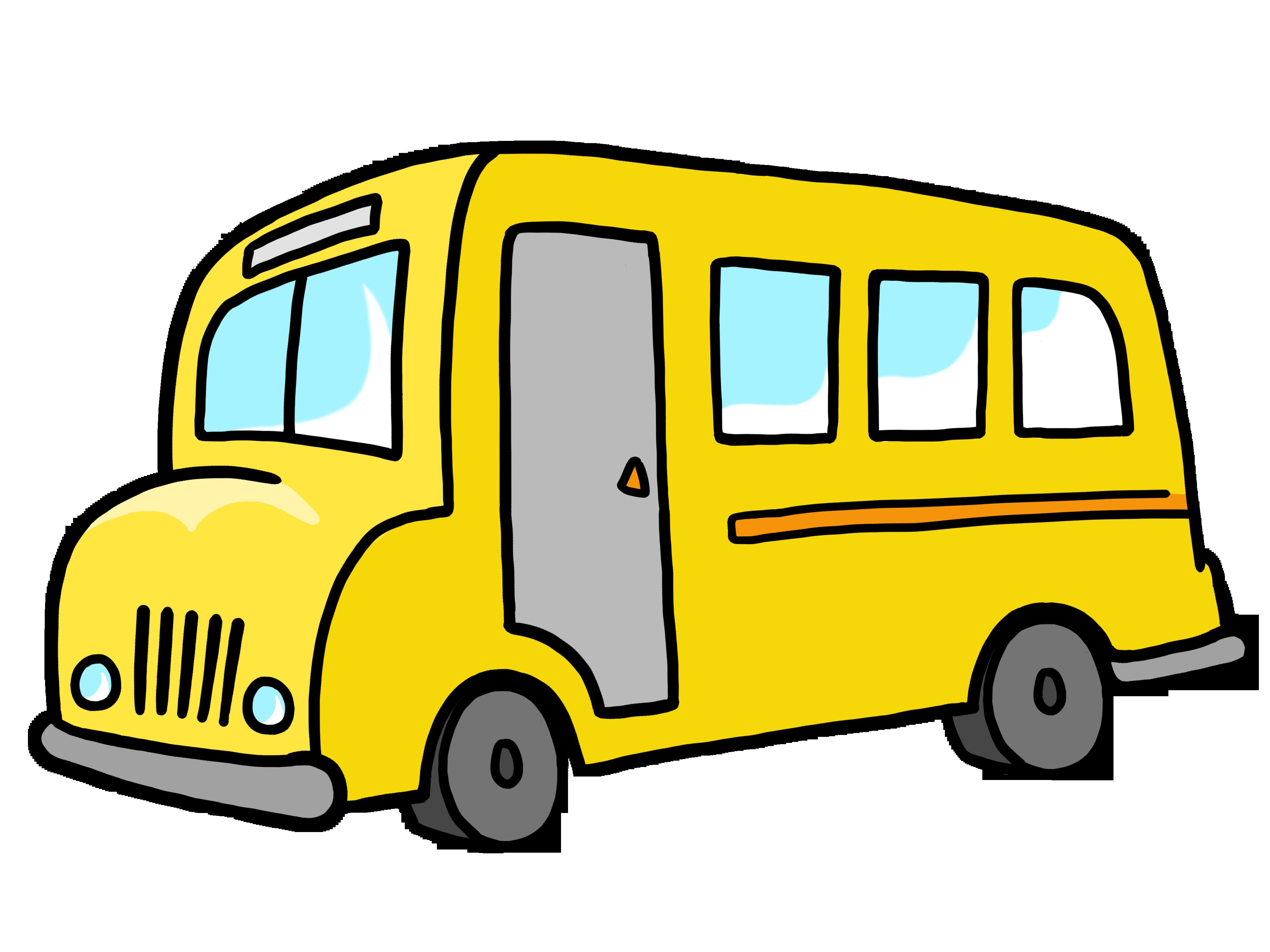 School bus simple bus clip art free clipart images pluspng - City Bus Side View PNG