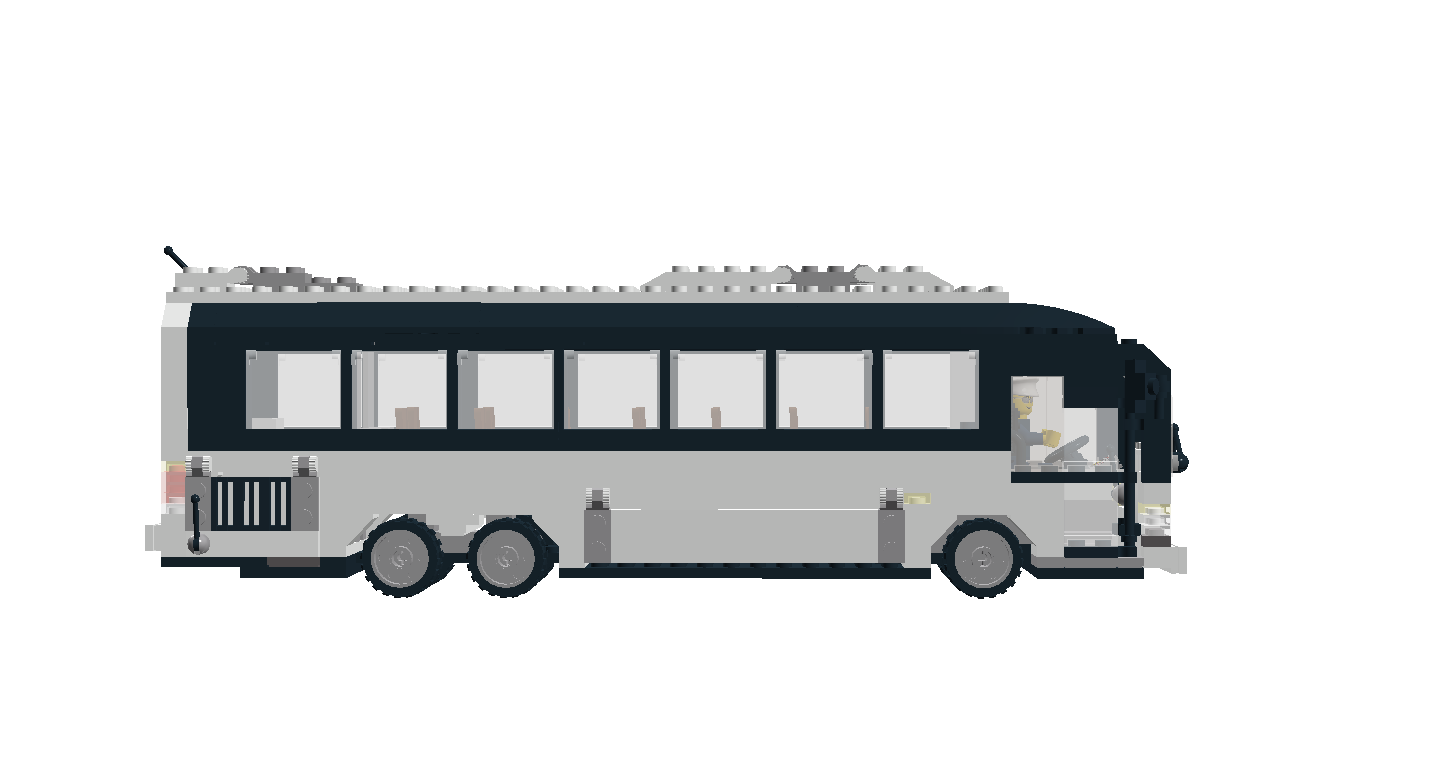 City Bus Side View PNG - 54574