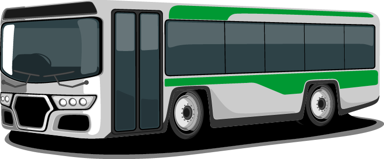 The cost of the round-trip charter bus and ferry from the airport to the  campsite is $80 and must be prepaid. To pay for transportation, go here. - City Bus Side View PNG