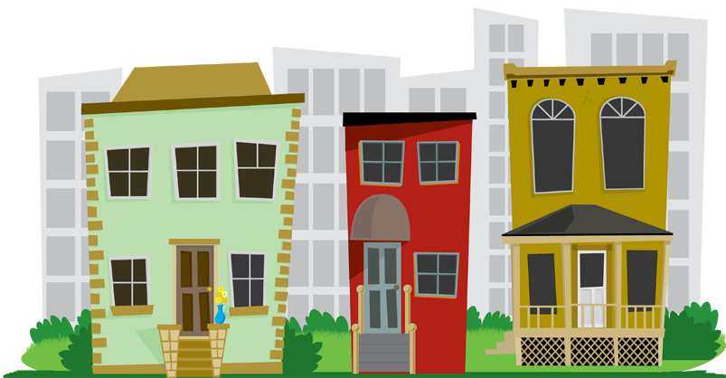 City Neighborhood Clipart To Learn More Or To Get On Our - City Neighborhood PNG