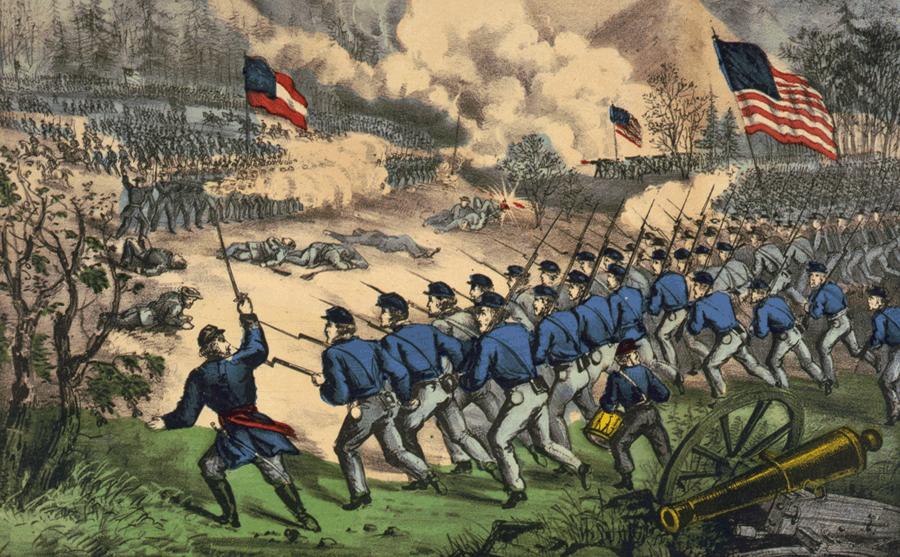 File:Battle of Cedar Mountain.png - Civil War Battle PNG