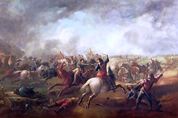 File:Battle of Marston Moor, 1644.png - Civil War Battle PNG