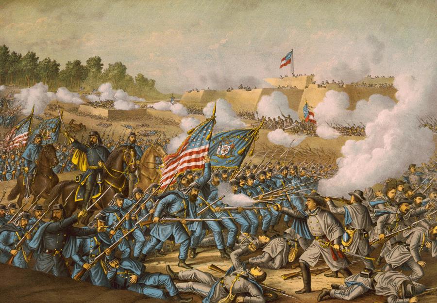 File:Battle of Williamsburg.png - Civil War Battle PNG