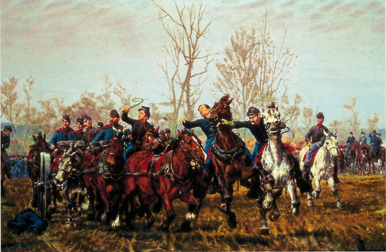 File:Civil War Battle Scene 1887 William T Trego.png - Civil War Battle PNG