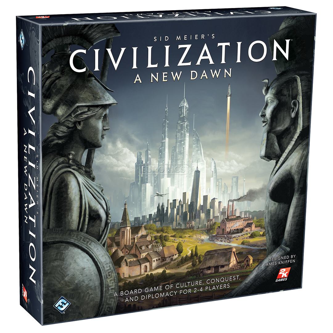 Board game Civilization: A New Dawn - Civilization Game PNG