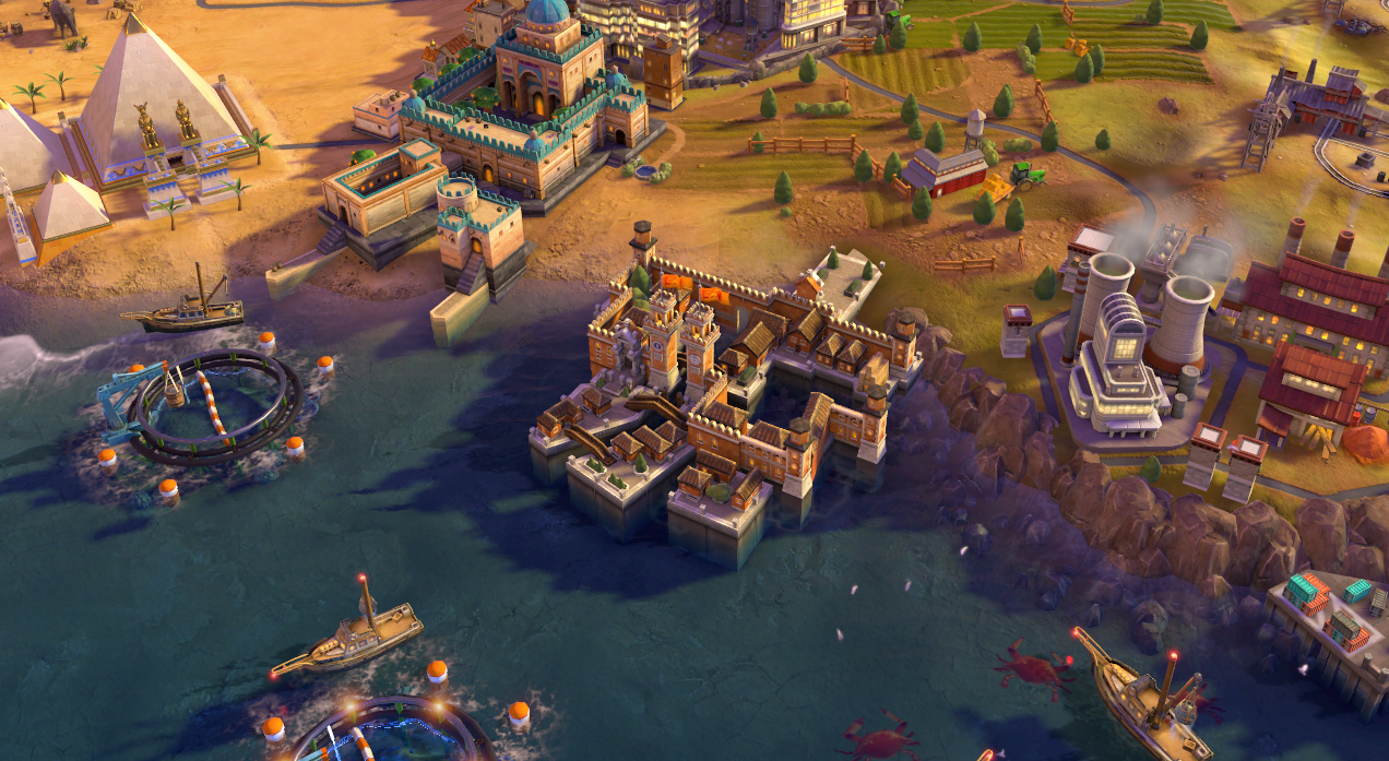 Venetian Arsenal in-game (Civ6).png - Civilization Game PNG