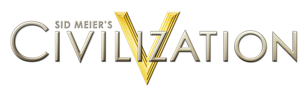File:Civ5 logo.png - Civilization HD PNG