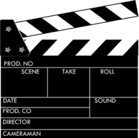 Clapperboard PNG - 4457
