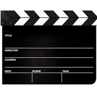 Clapperboard PNG - 4453