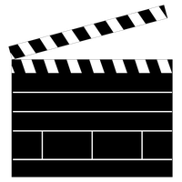 Clapperboard PNG - 4450