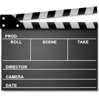 Clapperboard PNG - 4462
