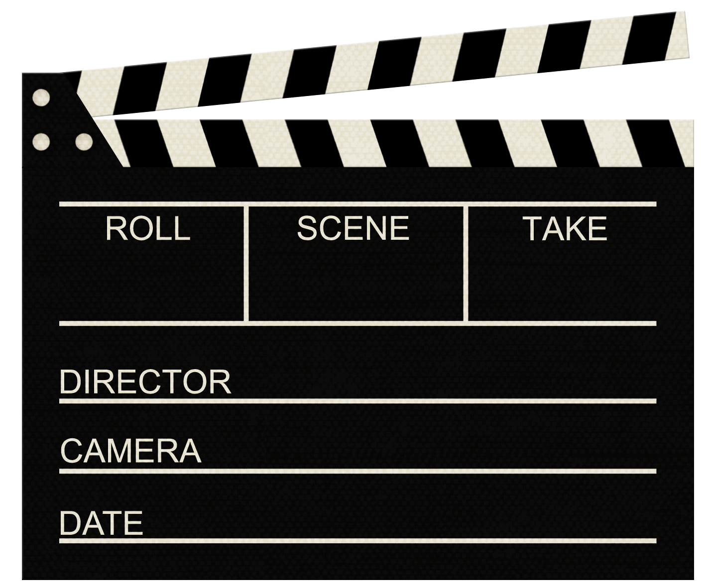 Clapperboard PNG - 4454